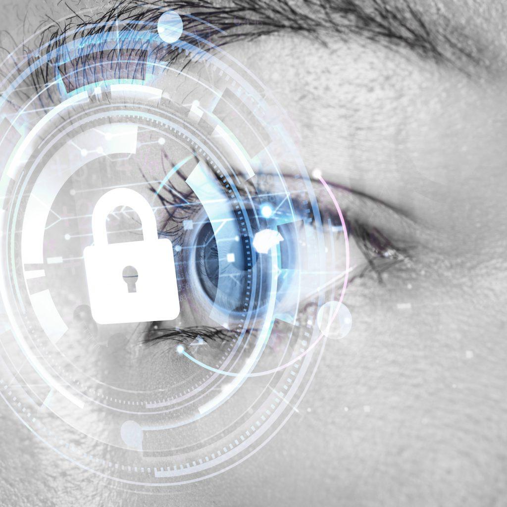 an eye on cybersecurity